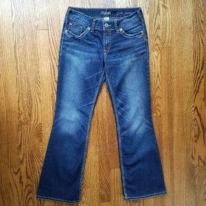 Silver Suki Surplus Dark Wash Bootcut Jeans 29